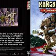 Korgoth of Barbaria (2006) R1 Custom DVD Cover