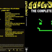 Superjail: The Complete Series (Season 1-4) R1 Custom DVD Cover