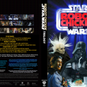 Robot Chicken Star Wars Trilogy R1 DVD Custom Cover
