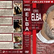 Idris Elba Filmography - Set 3 (2008-2010) R1 Custom DVD Covers