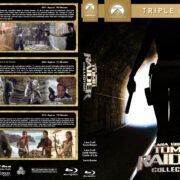 Tomb Raider Collection (2001-2018) R1 Custom Blu-Ray Cover