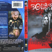 30 Days Of Night (2007) R1 Blu-Ray Cover & Label