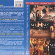 The Mummy Trilogy (1999-2008) R1 DVD Canadian Bilingual