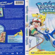 Pokemon Heroes (2003) R1 DVD Cover Canadian Billingual