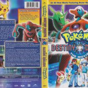 Pokemon Destiny Deoxys (2005) R1 DVD Covers Canadian Bilingual