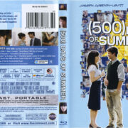 (500) Days Of Summer (2009) R1 Blu-Ray Cover & Labels