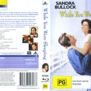 While You Were Sleeping (2012) R1 Blu-Ray Cover & Label