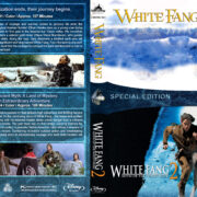 White Fang Double Feature (1991-1994) R1 Custom Blu-Ray Cover