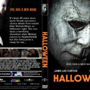 Halloween (2018) R1 CUSTOM DVD Cover & Label