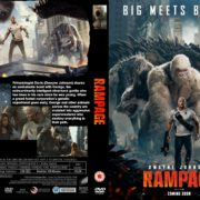 Rampage (2018) R0 CUSTOM DVD Cover & Label
