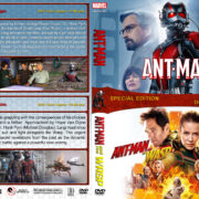 Ant-Man Double Feature (2015-2018) R1 Custom DVD Cover