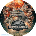 Jurassic World: Fallen Kingdom (2018) R0 Custom Clean Labels