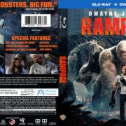 Rampage (2018) R1 Blu-Ray Cover