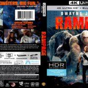 Rampage (2018) R1 Custom 4K UHD Cover