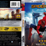 Spider-man: Homecoming (2017) R1 UHD 4K Cover