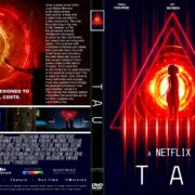 Tau (2018) R1 CUSTOM DVD Cover & Label