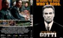 Gotti (2018) R1 CUSTOM DVD Cover & Label