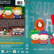 South Park – Season 3 (1999) R1 Custom DVD Cover