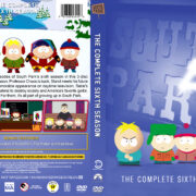 South Park – Season 6 (2002) R1 Custom DVD Cover