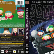 South Park – Season 12 (2008) R1 Custom DVD Cover
