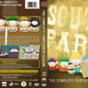 South Park – Season 13 (2009) R1 Custom DVD Cover