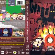 South Park - Season 14 (2010) R1 Custom DVD Cover