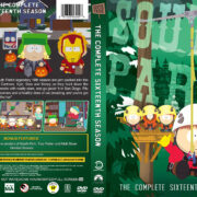South Park – Season 16 (2012) R1 Custom DVD Cover