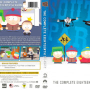 South Park – Season 18 (2014) R1 Custom DVD Cover