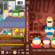 South Park - Season 19 (2015) R1 Custom DVD Cover