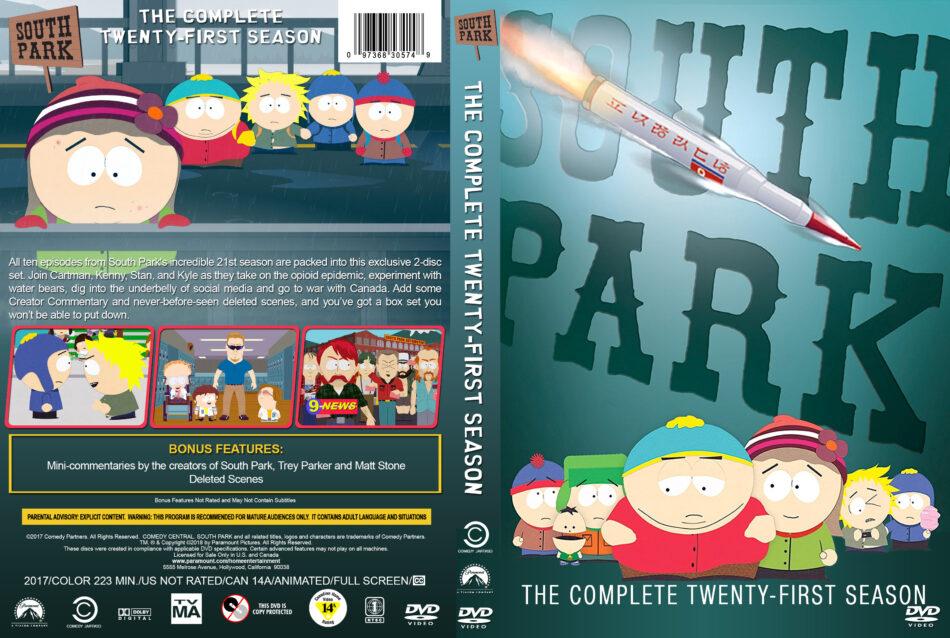 South Park - Season 21 (2017) R1 Custom DVD Cover - DVDcover Com