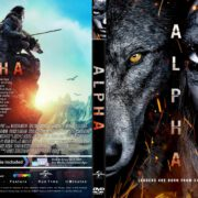Alpha (2018) R1 CUSTOM DVD Cover & Label