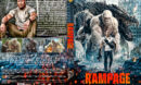 Rampage (2018) R1 Custom DVD Cover & Label