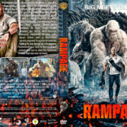 Rampage (2018) R1 Custom DVD Cover & Label