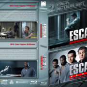 Escape Plan Double Feature (2013-2018) R1 Custom Blu-Ray Cover