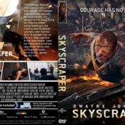 Skyscraper (2018) R1 CUSTOM DVD Cover & Label