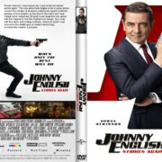 Johnny English Strikes Again (2018) R2 Custom DVD Cover & Label