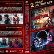 Deadpool Double Feature (2016-2018) R1 Custom Blu-Ray Cover