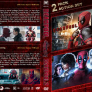 Deadpool Double Feature (2016-2018) R1 Custom DVD Cover