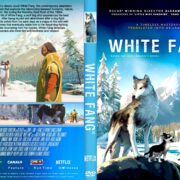 White Fang (2018) R2 CUSTOM DVD Cover & Label