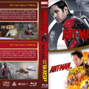 Ant-Man Double Feature (2015-2018) R1 Custom Blu-Ray Cover
