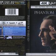 Phantom Thread (2018) R1 4K UHD Cover & Labels