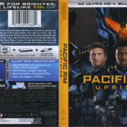 Pacific Rim: Uprising (2018) R1 4K UHD Cover & Labels