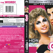 Grease (2018) R1 4K UHD Cover & Labels