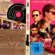 Baby Driver (2017) R2 German Blu-Ray Cover