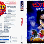 Elvira – Mistress of the Dark (2018) R2 German Blu-Ray Cover