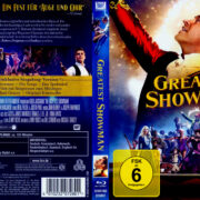 Greatest Showman (2018) R2 German Blu-Ray Covers
