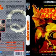 American Monster (1982) R2 German DVD Cover
