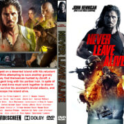 Never Leave Alive (3 Hours Until Dead) (2017) R0 Custom DVD Cover
