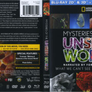 Mysteries Of The Unseen World (2013) R1 Blu-Ray Cover & Labels