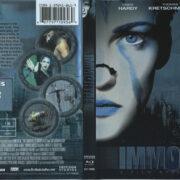 Immortal (2004) R1 Blu-Ray Cover & Label